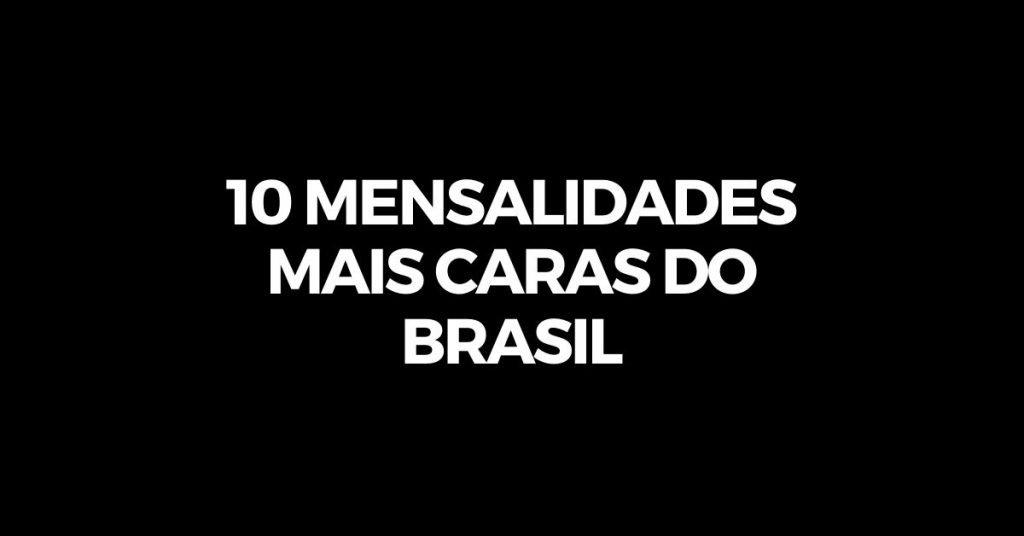 mensalidades medicina brasil