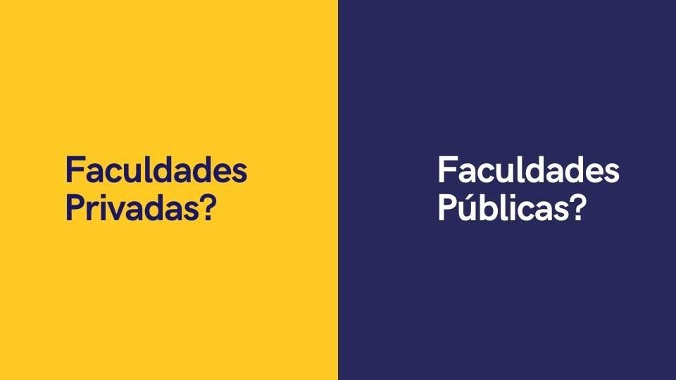 Faculdades publicas x faculdade privadas no Paraguai